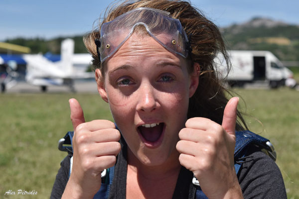Saut en parachute tandem SKY-LIVE Tallard Gap S3