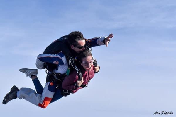 Saut en parachute tandem SKY-LIVE Tallard Gap C3