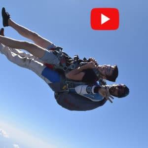 Réserver un saut en parachute tandem vidéo à Tallard Gap, hautes alpes SKY-LIVE