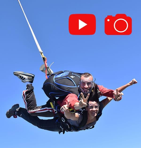 Réserver un saut en tandem vidéo photos à Tallard Gap, hautes alpes SKY-LIVE