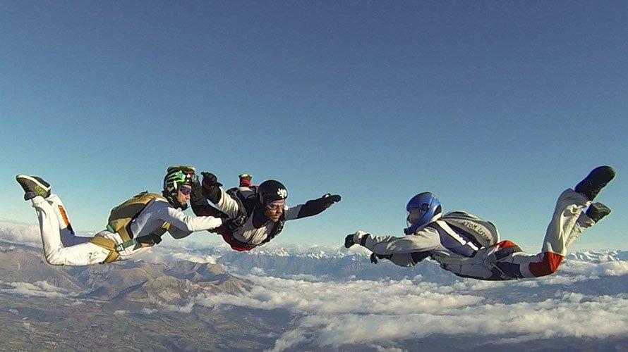 Saut en parachute : Stage PAC Sky-Live Gap Tallard