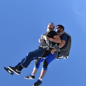 Saut en parachute : cadeau saut en tandem SKY-LIVE Tallard Gap