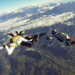 Saut en parachute : cadeau saut initiation Tallard Gap