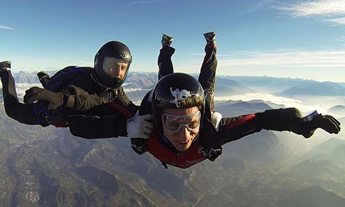 Stage saut en parachute : stage pac SKY-LIVE Tallard P2
