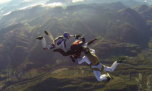 Stage saut en parachute : stage pac SKY-LIVE Tallard P3