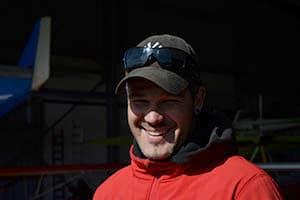 Partenaire SKY-LIVE, saut en parachute, saut en tandem, stage pac : Sylvain